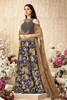Picture of An Experimental Stylish Designer lehenga Choli