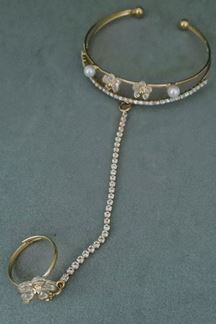 Picture of Adjustable Hath Phul with American Diamond