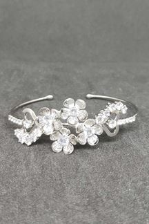 Picture of White Coronet Diamond Bracelet