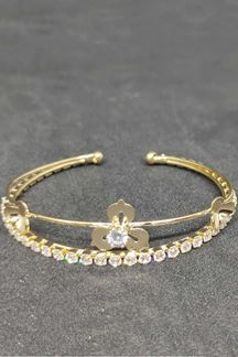 Picture of Single Line Diamond Adjustable Bracelet