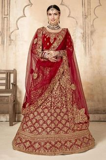 Picture of Exotic Pink Colored Designer Lehenga choli