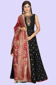 Picture of Black Anarkali Suit