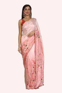 Picture of Ravishing Pink Shaded Dolla Silk Saree
