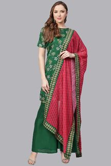 Picture of Classy Green Designer Readymade Suit