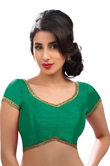 Picture of Blowing  Green Colored Readymade Blouse