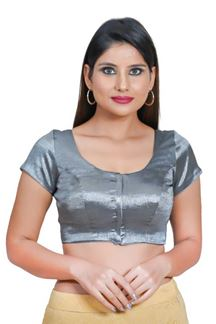 Picture of Mesmeric Grey Colored Readymade Blouse