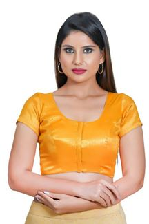 Picture of Maximize Yellow Colored Readymade Blouse