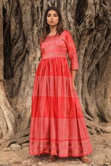 Picture of Sunning Red Colored Kurti