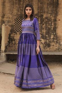 Picture of Boldly Blue Colored Designer Kurti