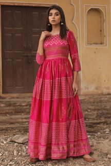 Picture of Manifested Pink Colored Designer Kurti
