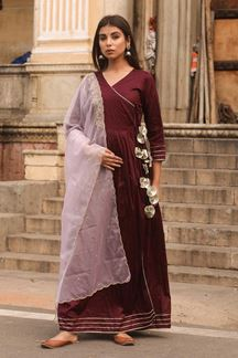 Picture of Readymade Falsi Colored Kurti
