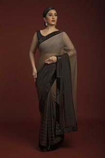 Picture of Prettified base colored Designer Saree