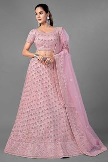 Picture of Magnificence Pink Colored Designer Lehenga Choli