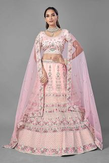 Picture of Charming Pink Colored Designer Lehenga Choli