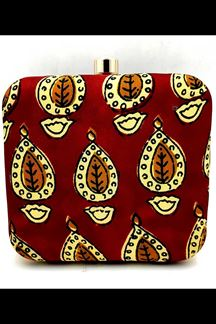 Picture of Exclusive Multi-Colored Designer Printed Clutches